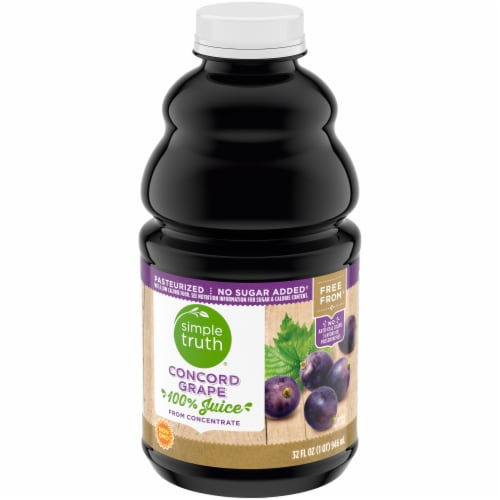 Simple Truth Concord Grape Juice Perspective: front