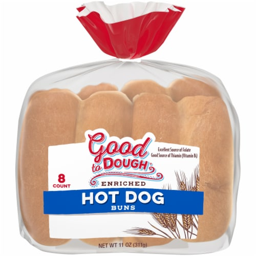 Good to Dough® Enriched Hot Dog Buns Perspective: front