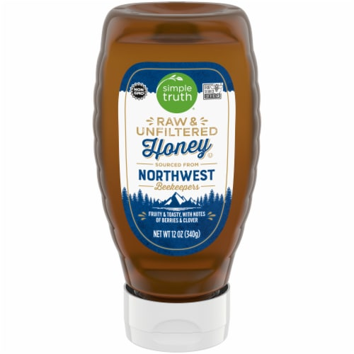 Simple Truth® Raw & Unfiltered Northwest Honey Perspective: front