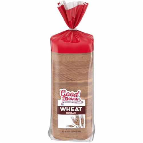 Good to Dough® Round Top Wheat Bread Perspective: front