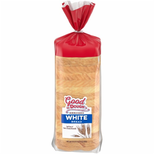 Good to Dough® Enriched White Bread Perspective: front