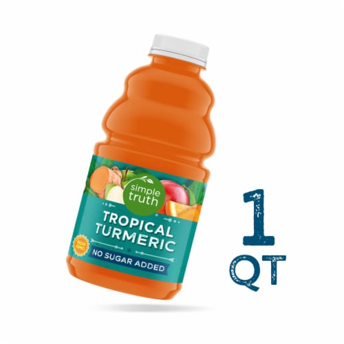 Simple Truth® Organic Tropical Turmeric Fruit Juice Perspective: front