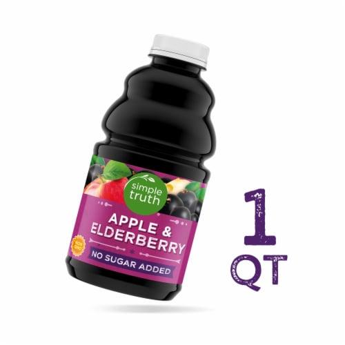 Simple Truth® Apple & Elderberry Juice Perspective: front