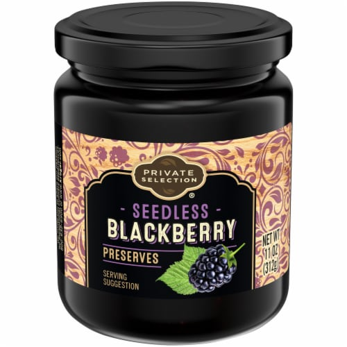 Private Selection® Seedless Blackberry Preserves Perspective: front