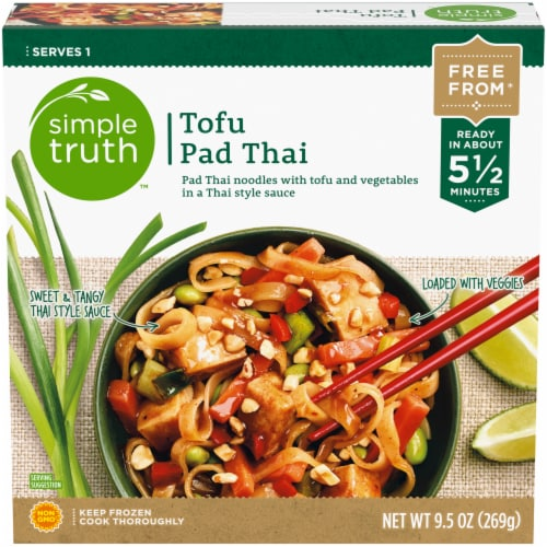 Simple Truth™ Tofu Pad Thai Frozen Meal Perspective: front