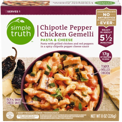Simple Truth™ Chipotle Pepper Chicken Gemelli Pasta & Cheese Perspective: front