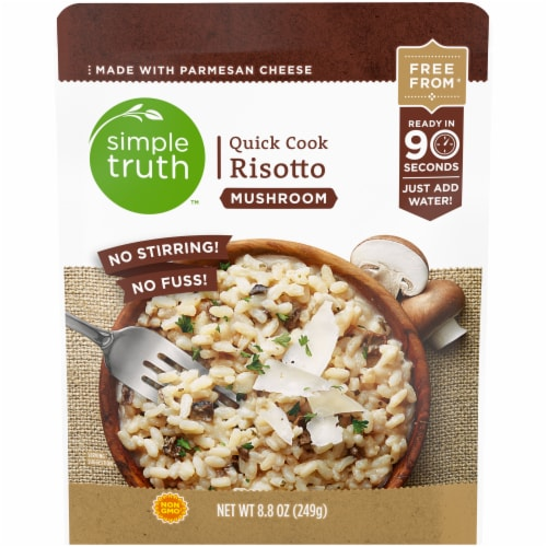 Simple Truth™ Quick Cook Mushroom Risotto Perspective: front
