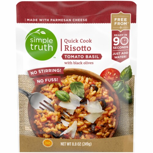 Simple Truth™ Tomato Basil Quick Cook Risotto Perspective: front