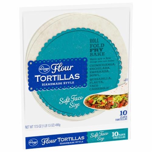 Kroger® Soft Taco Size Flour Tortillas Perspective: front