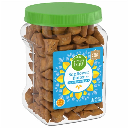 Simple Truth™ Sunflower Butter Filled Pretzels Perspective: front