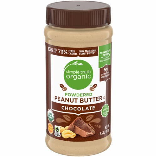 Simple Truth Organic™ Chocolate Powdered Peanut Butter Perspective: front