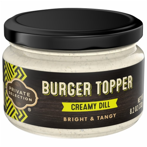 Private Selection® Creamy Dill Burger Topper Sauce Perspective: front