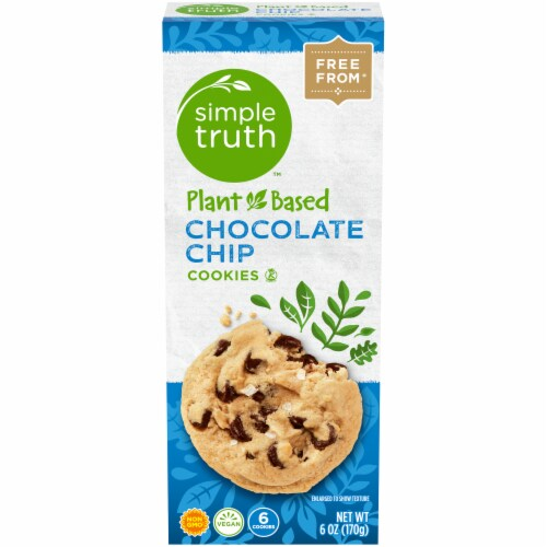 Simple Truth™ Plant-Based Chocolate Chip Cookies Perspective: front