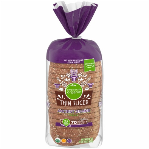 Simple Truth Organic™ Thin Sliced Ancient Grains Bread Perspective: front