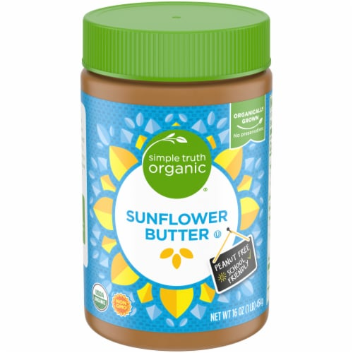 Simple Truth Organic® Sunflower Butter Perspective: front