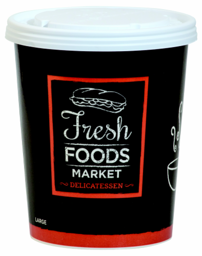 Fresh Foods Market Fresh Large Delicatessen Soup Perspective: front
