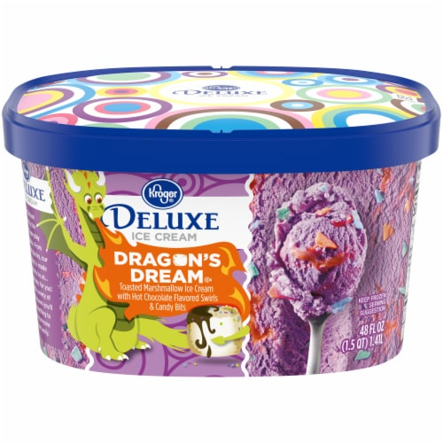 Kroger® Deluxe Dragon's Dream Ice Cream Perspective: front