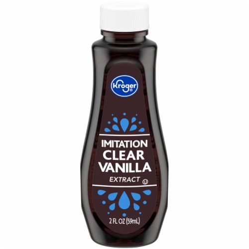 Kroger® Clear Imitation Vanilla Extract Perspective: front