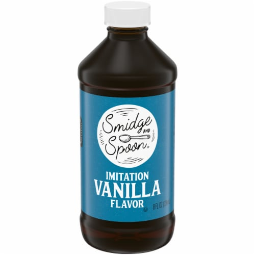 Smidge and Spoon® Imitation Vanilla Flavoring Perspective: front
