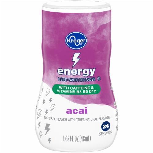 Kroger® Energy Acai Berry Liquid Water Enhancer Perspective: front