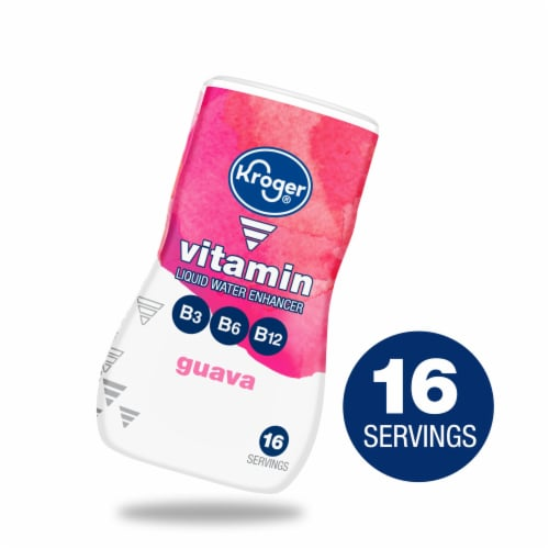 Kroger® Vitamin Guave Liquid Water Enhancer Perspective: front
