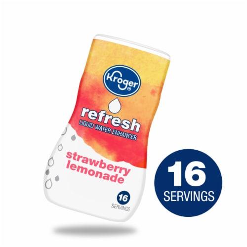 Kroger® Refresh Strawberry Lemonade Liquid Water Enhancer Perspective: front