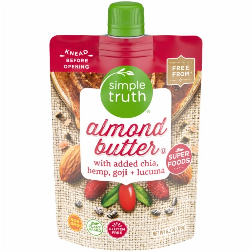 Simple Truth® Super Foods Almond Butter Perspective: front