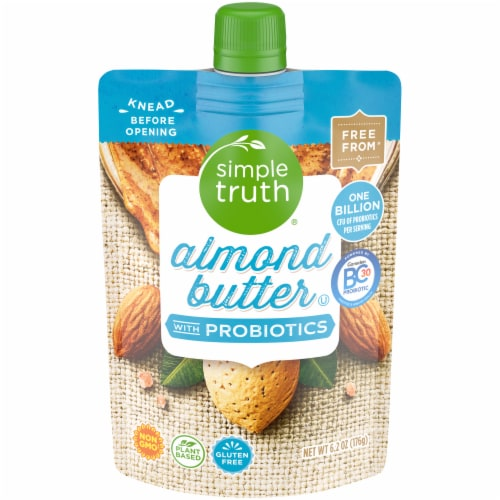 Simple Truth® Probiotic Almond Butter Perspective: front