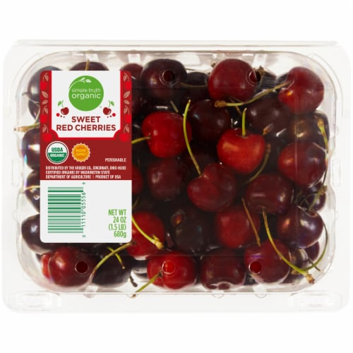 Simple Truth Organic™ Sweet Red Cherries Perspective: front