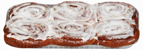 Bakery Fresh Goodness Cream Cheese Frosted Cinnamon Rolls Perspective: front