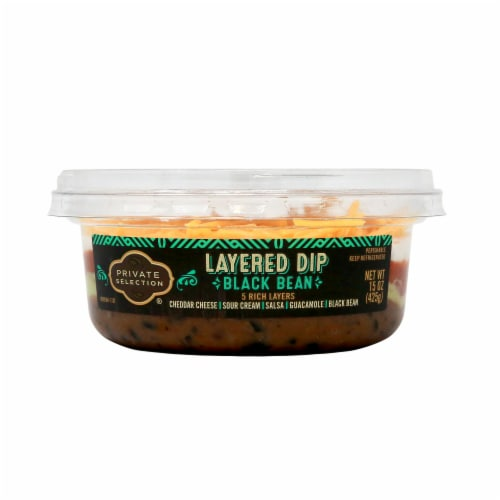 Private Selection® Black Bean Layered Dip Perspective: front