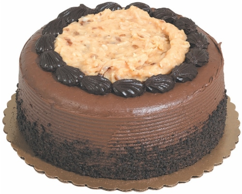 Double Layer German Chocolate Cake Perspective: front