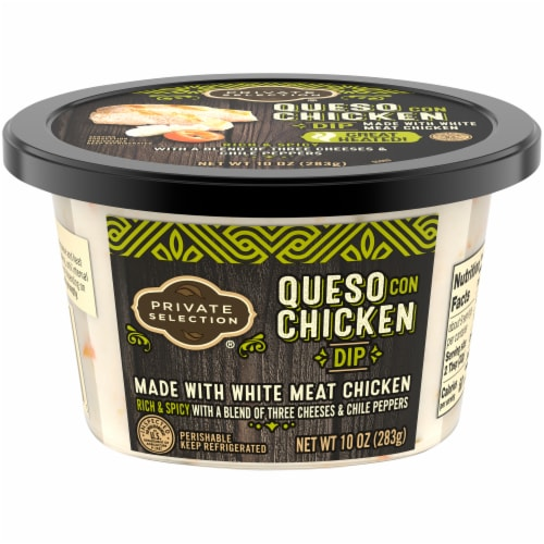 Private Selection® Queso Con Chicken Dip Perspective: front