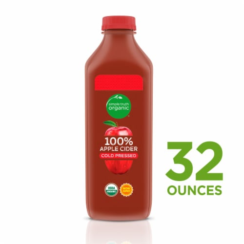 Simple Truth Organic™ Cold Pressed 100% Apple Cider Beverage Perspective: front