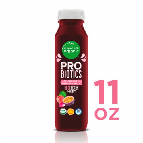 Simple Truth Organic® Roseberry Mist Probiotic Juice Drink Perspective: front