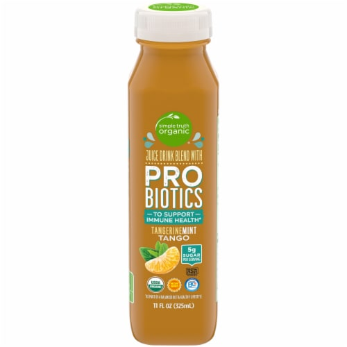 Simple Truth Organic® TangerineMint Tango Probiotic Juice Drink Perspective: front