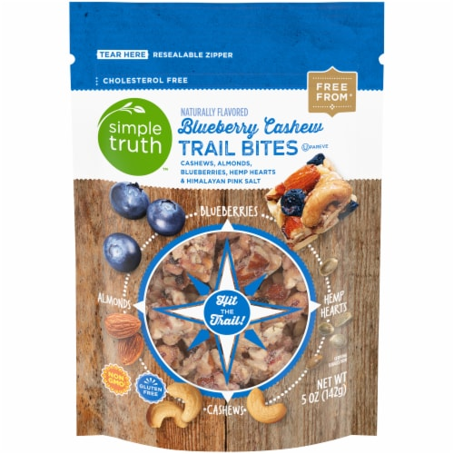 Simple Truth™ Blueberry Cashew Trail Mix Bites Perspective: front