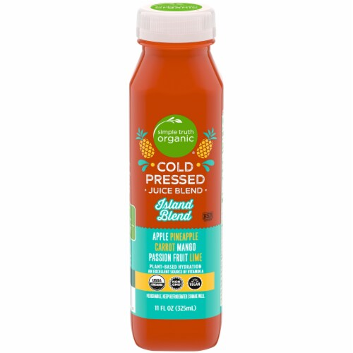 Simple Truth Organic® Cold Pressed Island Blend Juice Perspective: front