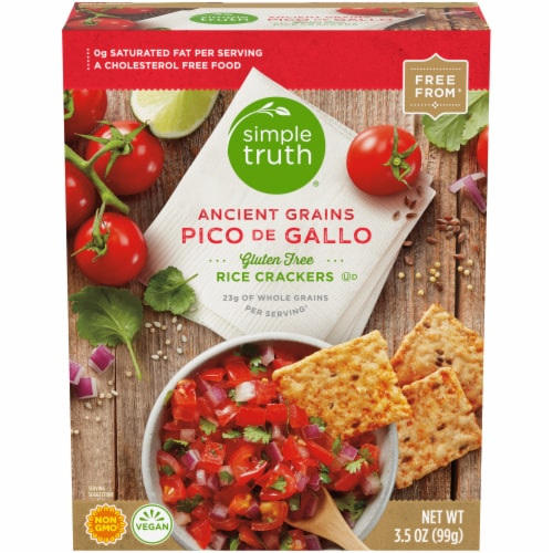 Simple Truth™ Pico de Gallo Rice Crackers Perspective: front