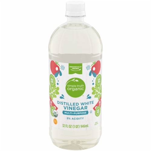Simple Truth Organic™ Multi Purpose Distilled White Vinegar Perspective: front