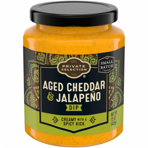 Private Selection™ Aged Cheddar & Jalapeno Dip Perspective: front