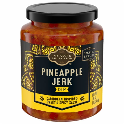 Private Selection® Pineapple Jerk Dip Perspective: front
