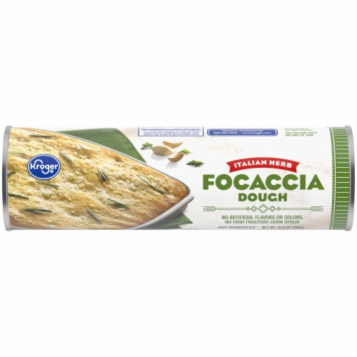 Kroger® Italian Herb Focaccia Dough Perspective: front