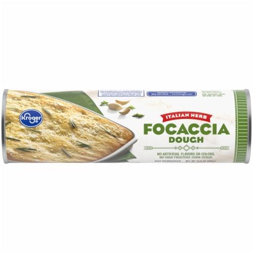 Kroger® Italian Herb Focaccia Dough Perspective: front