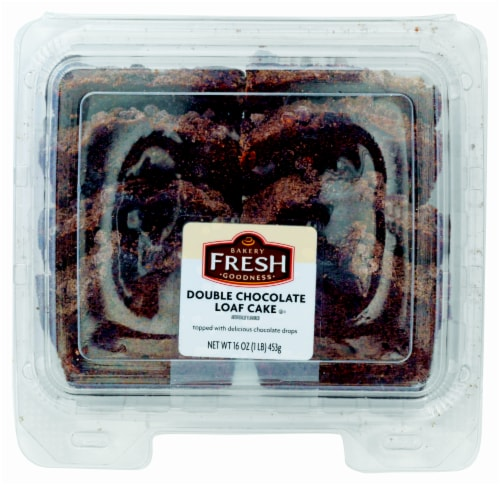Bakery Fresh Goodness Double Chocolate Sliced Loaf Cake Perspective: front