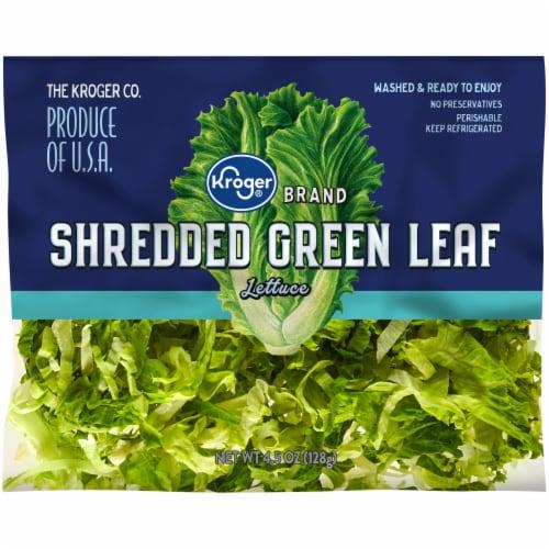 Kroger® Shredded Green Leaf Lettuce Perspective: front