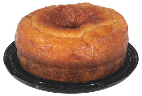 Peach Pudding Cake Perspective: front
