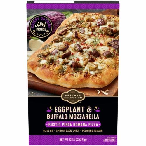 Private Selection Eggplant & Buffalo Mozzarella Rustic Pinsa Romana Frozen Pizza Perspective: front
