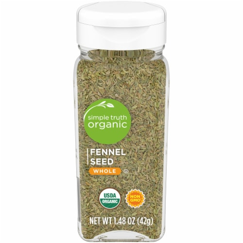 Simple Truth Organic™ Whole Fennel Seed Perspective: front