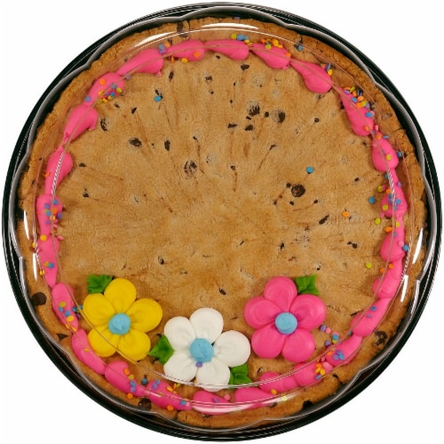 Bakery Fresh Goodness Spring Flowers Colossal Cookie Perspective: front